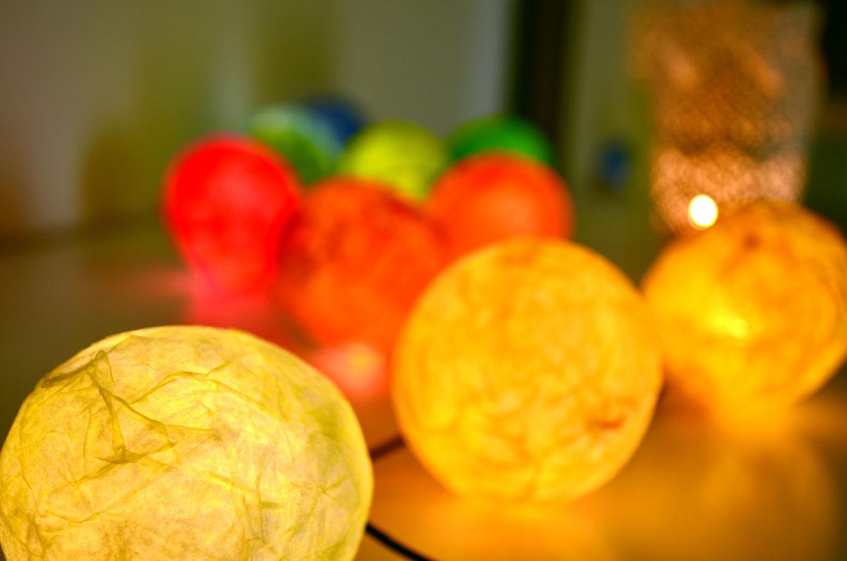Guirnalda de luces departamento de ideas - Guirnaldas de luces ...