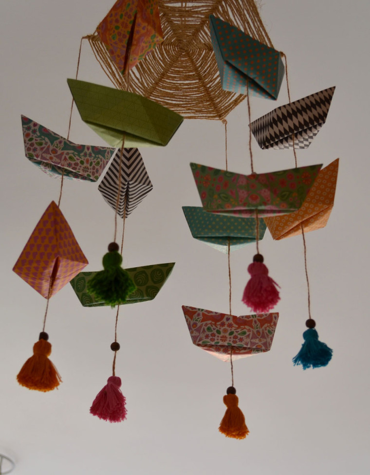 Movil_barco_papel_origami
