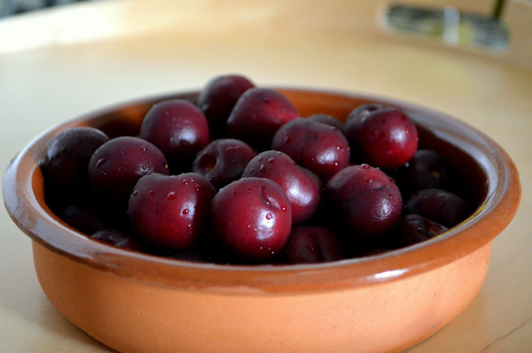 Crumble_cereza_picota_nueces_receta