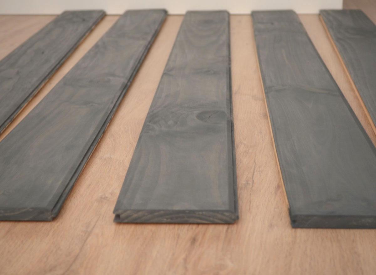 Como hacer cabeceros de madera cabecero madera y tapizado - Hacer cabecero de madera ...