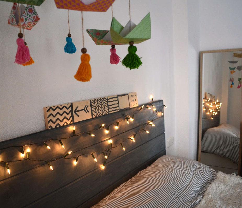 cabecero cama madera