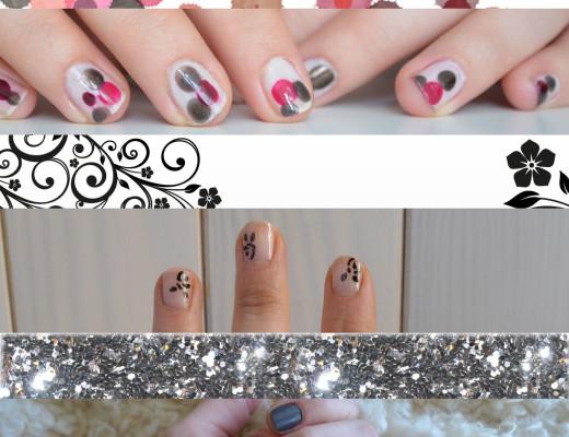 Ideas_uñas_lunares_glitter_flores