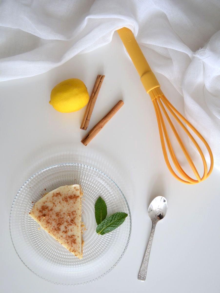 Tarta ligera y fácil de leche merengada