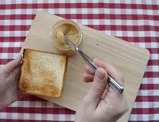Mantequilla de cacahuetes receta fácil