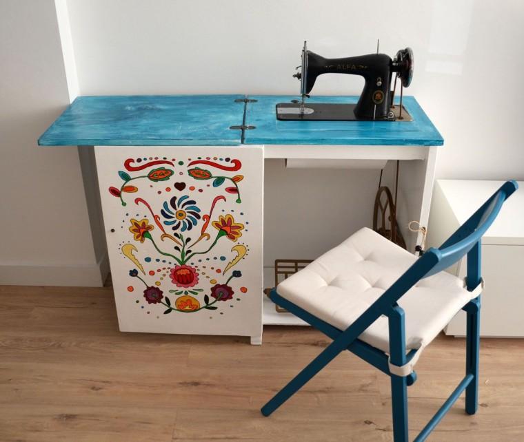 Mesa maquina coser ikea – Mesa para la cama