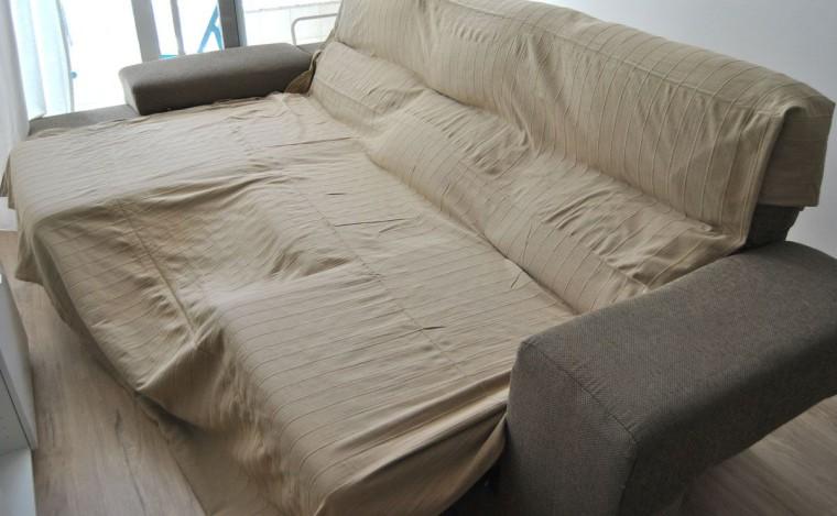 Funda sofa no se cae velcro