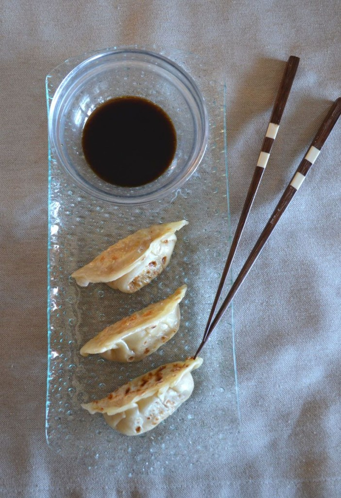 Masa gyoza empanadilla receta