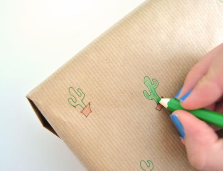Papel de regalo personalizado departamento de ideas for Papel pintado personalizado