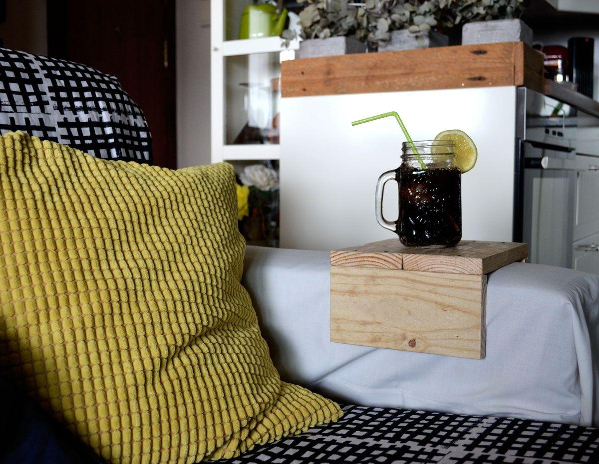 Mesa para brazo del sof departamento de ideas - Mesas para el sofa ...
