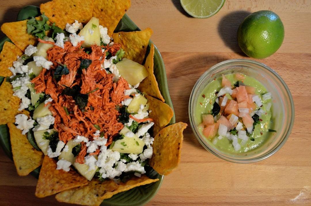 Ensalada mexicana achiote