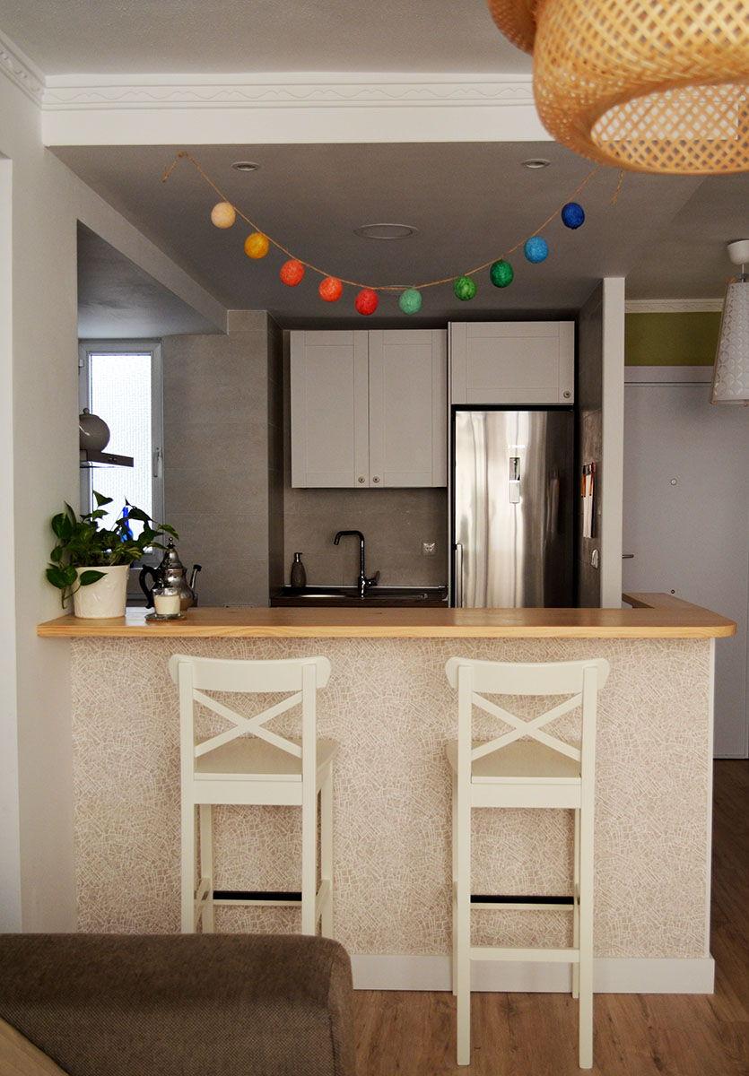 Papel pintado para cocinas lavable trendy beautiful - Papel pared cocina ...