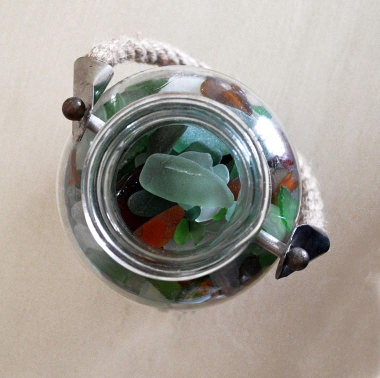 tips-decoracion-bote-cristales-playa