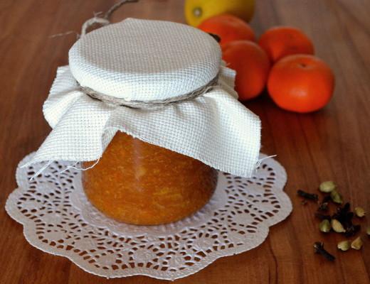 Mermelada especiada mandarina