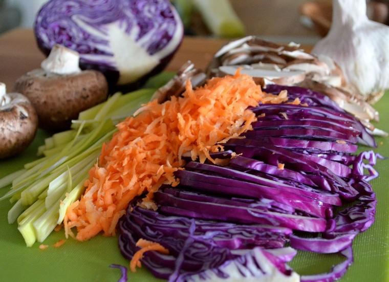 Rollito primavera verduras
