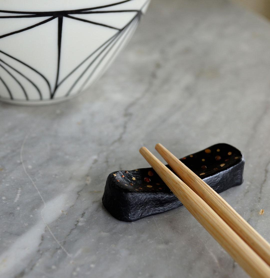 Posa palillos chinos o hashioki DIY