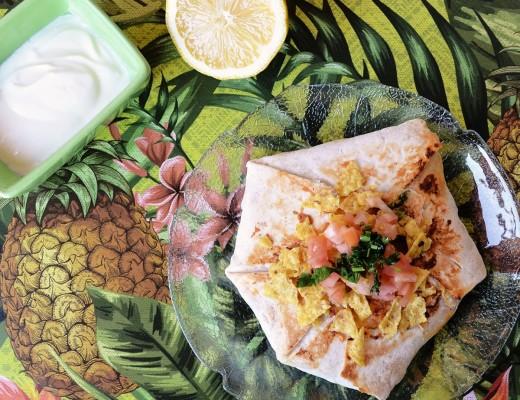 Crunchwrap estilo Taco bell