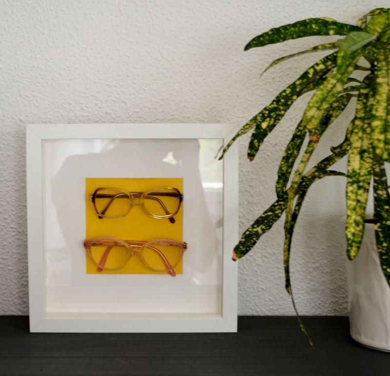 Cuadro gafas de niños